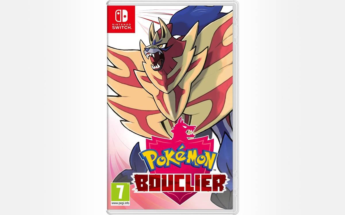 Pokemon Bouclier sur Switch