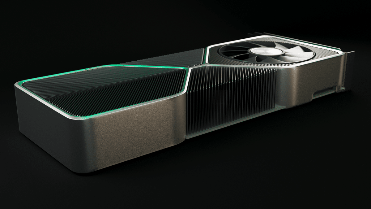 A design of the RTX 3080