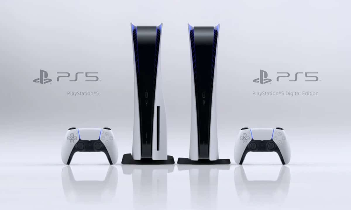 Les 2 versions de la PS5