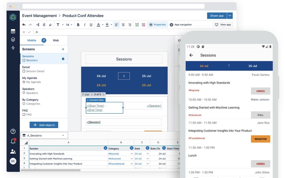 Amazon lance Honeycode : créez des applications web et mobiles sans coder