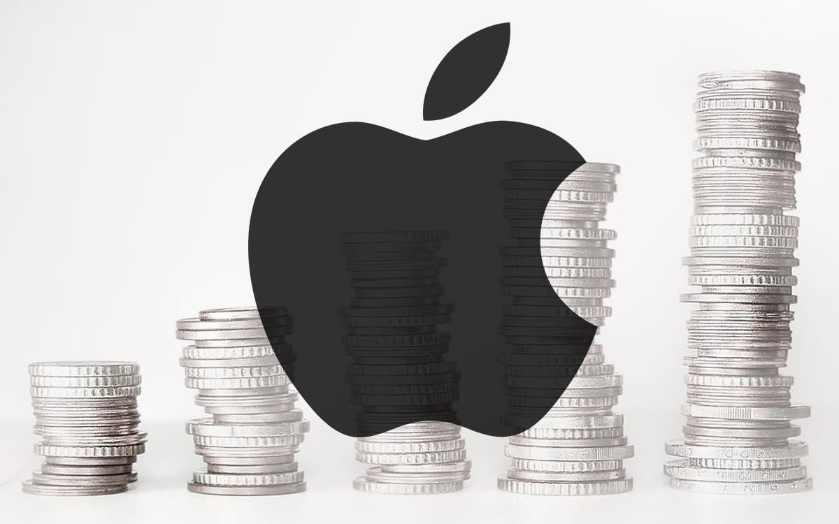 Apple bourse