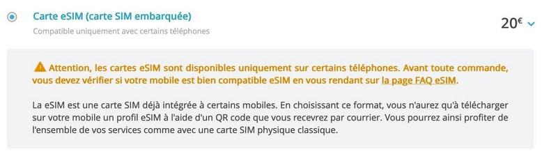 Bouygues Propose Enfin L Esim 20 D Activation Et Un Qr Code Recu Par Courrier Quel Progres