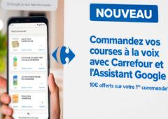 carrefour google assistant