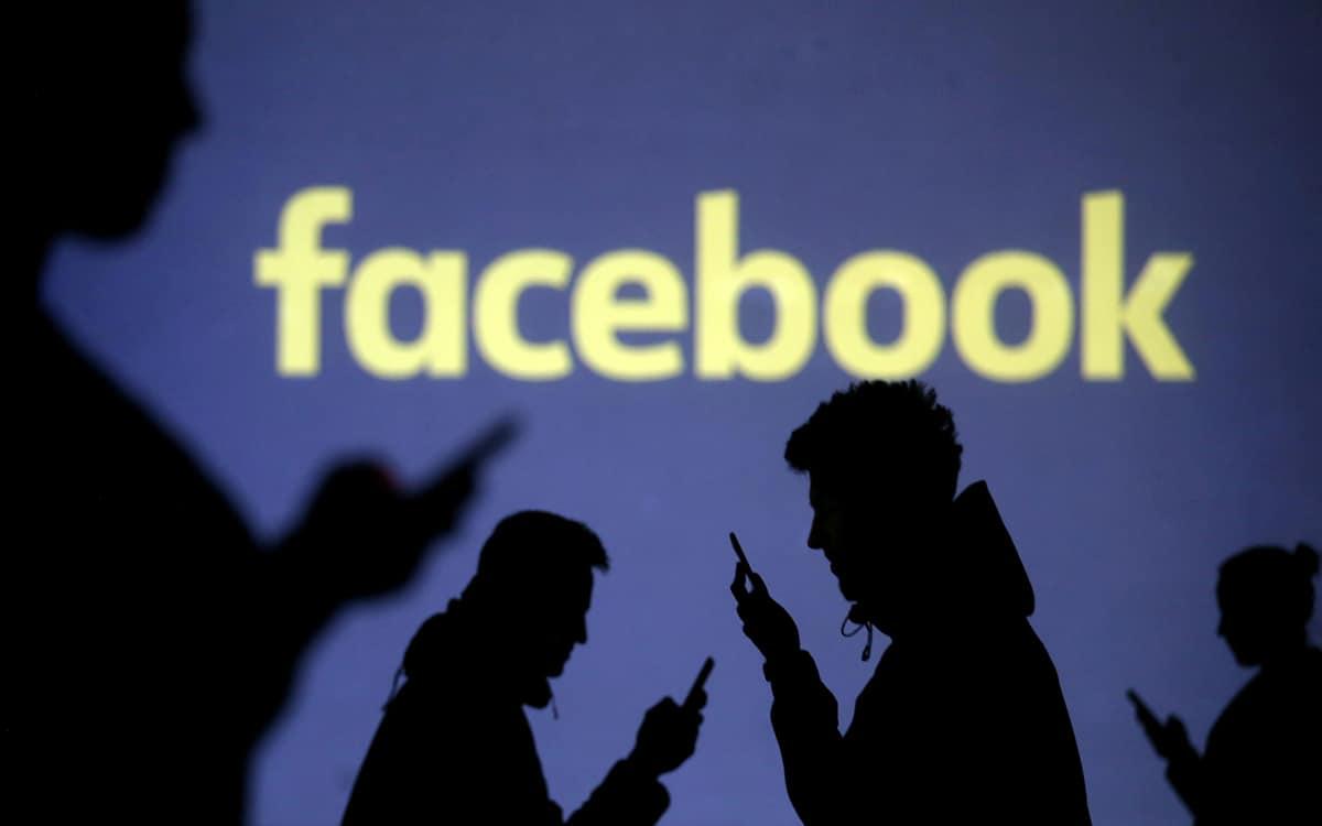 facebook marche virtuelle contre trump