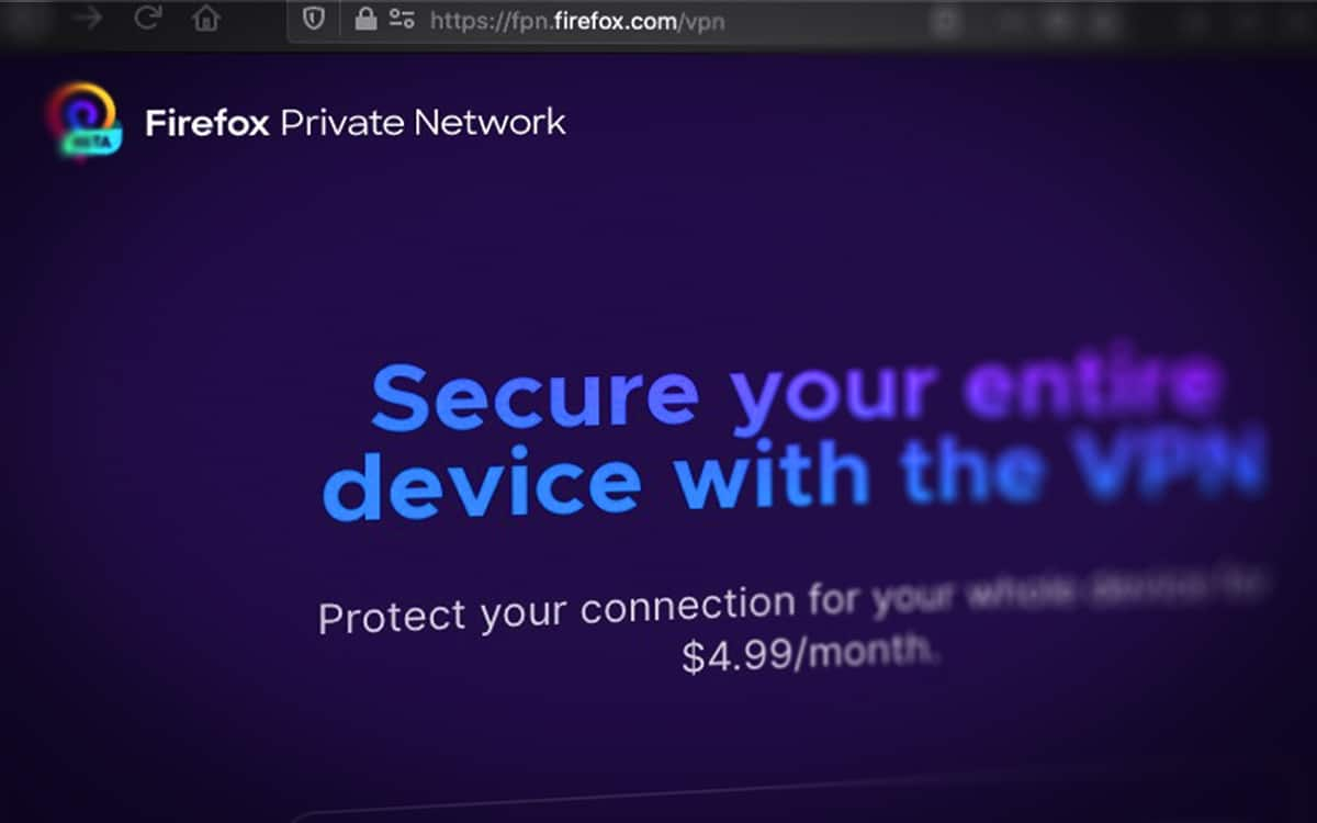 Rorefox Private Network Mozilla VPN