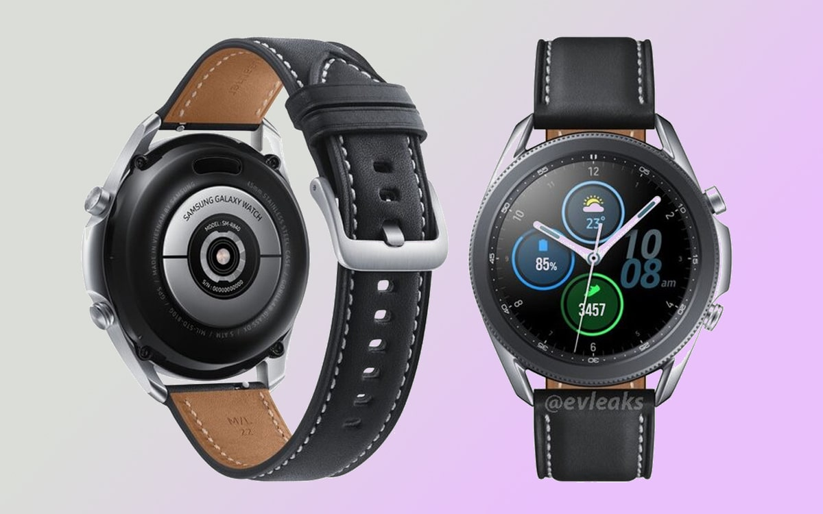 galaxy watch 3 images officielles