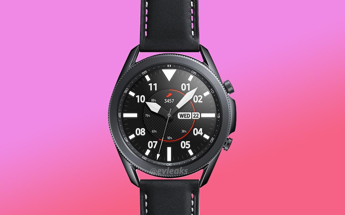 galaxy watch 3 présentation