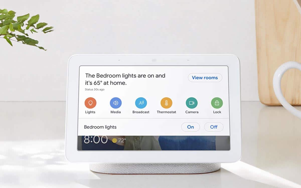 Google Assistant Nest Hub