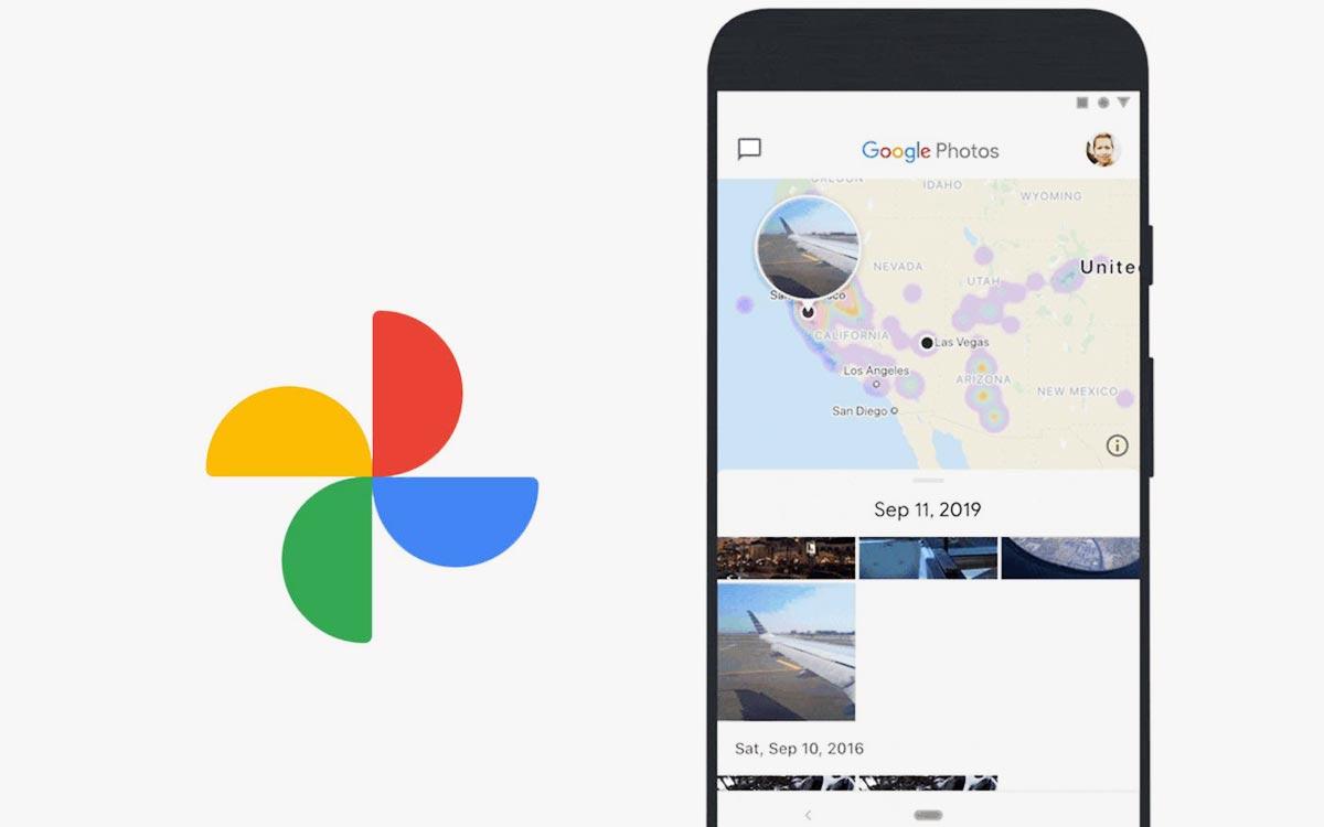 Google Photos : nouveau design