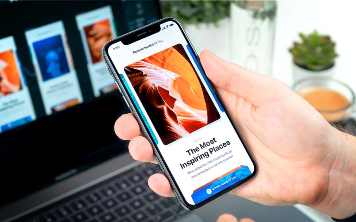 iOS iPhone nouveautés