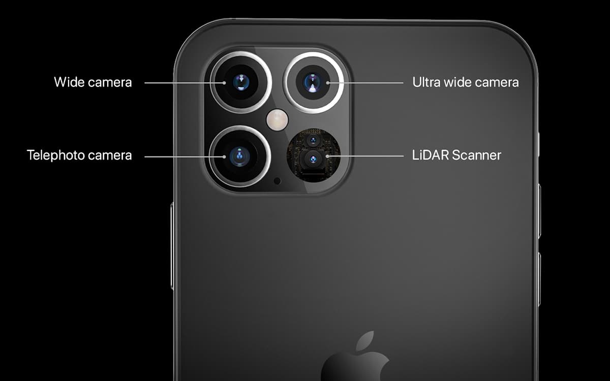 iPhone 12 photo sensors