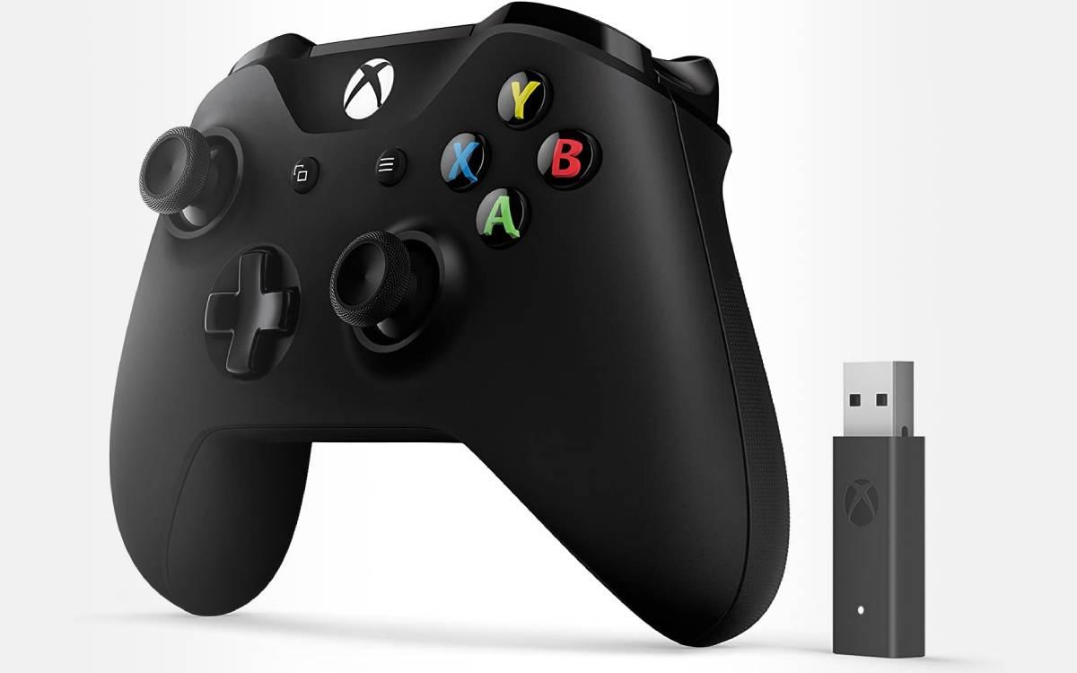 manette Xbox One pas chère avec adaptateur sans fil