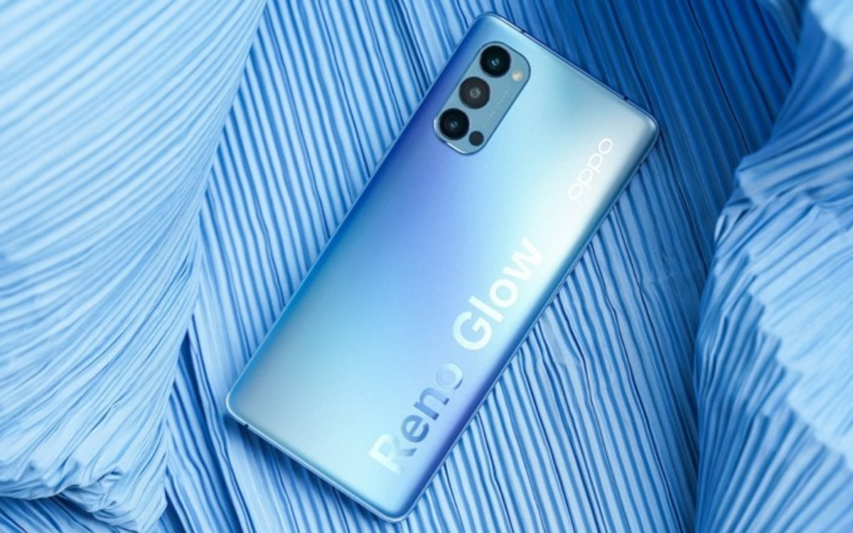 Oppo Reno 4 officialisation