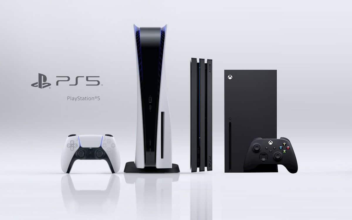 Comparaison de la taille de la PS5