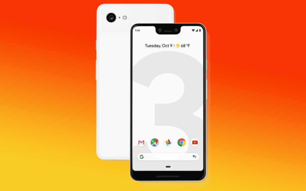 pixel 3 google défauts fabrication