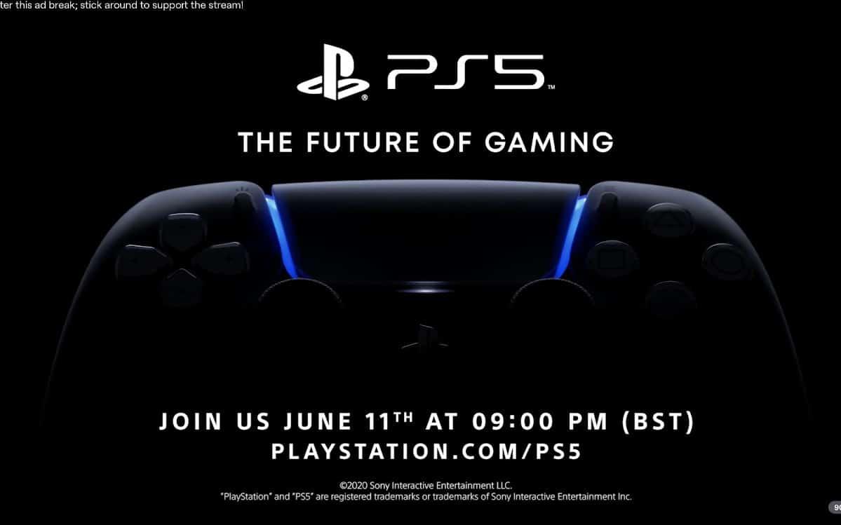 playstation 5 conference 11 juin 2020