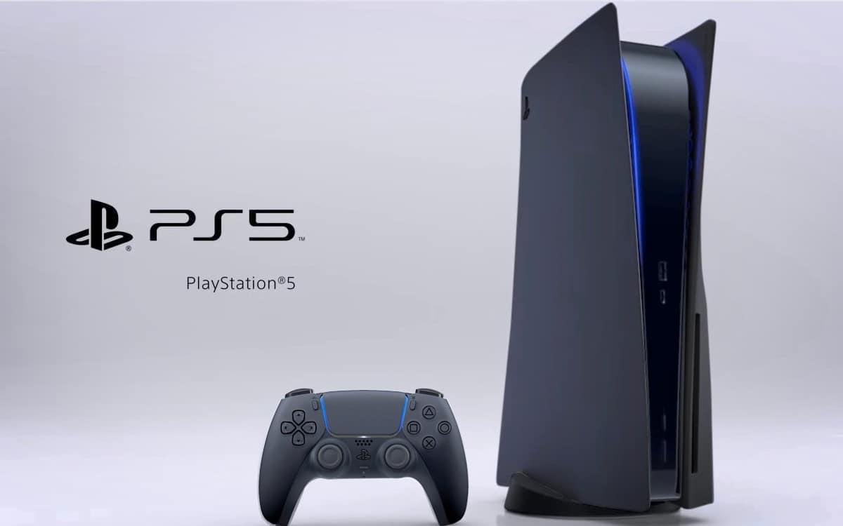 PS5 noir