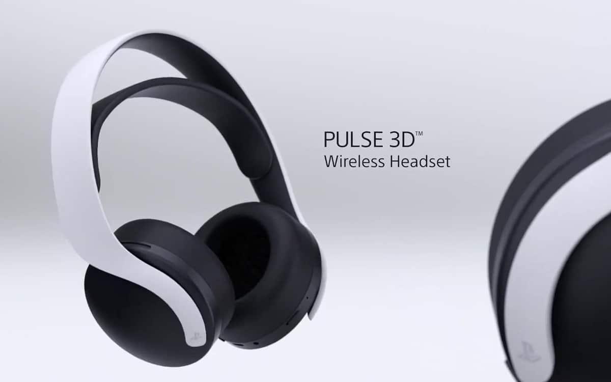 Casque pulse 3D PS5