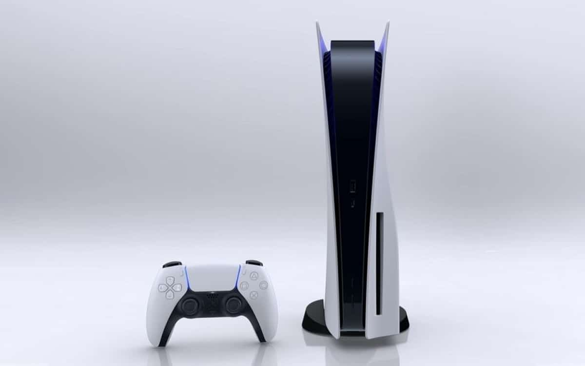 ps5 sony console imposante
