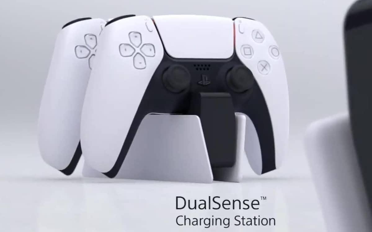 Station recharge manette dualsense PS5
