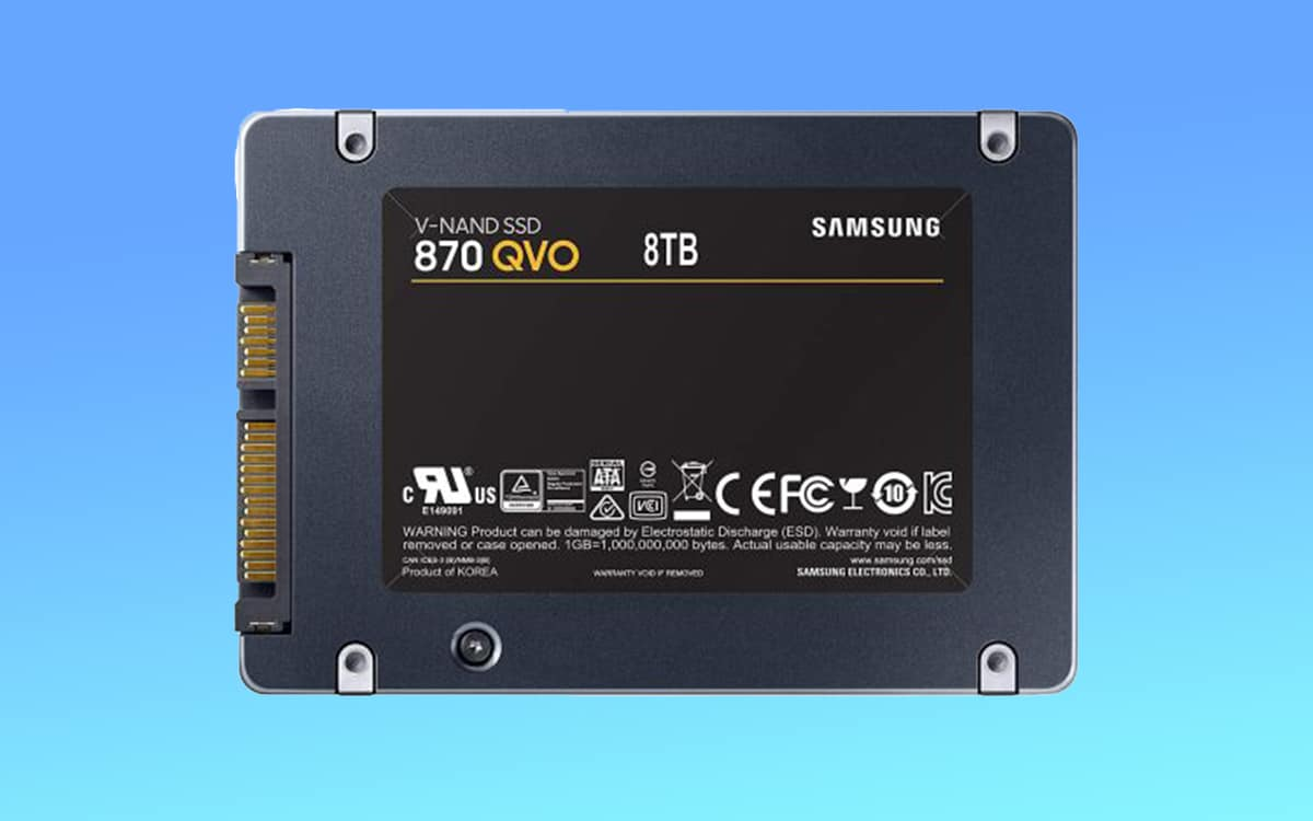 samsung ssd 8to 900 dollars