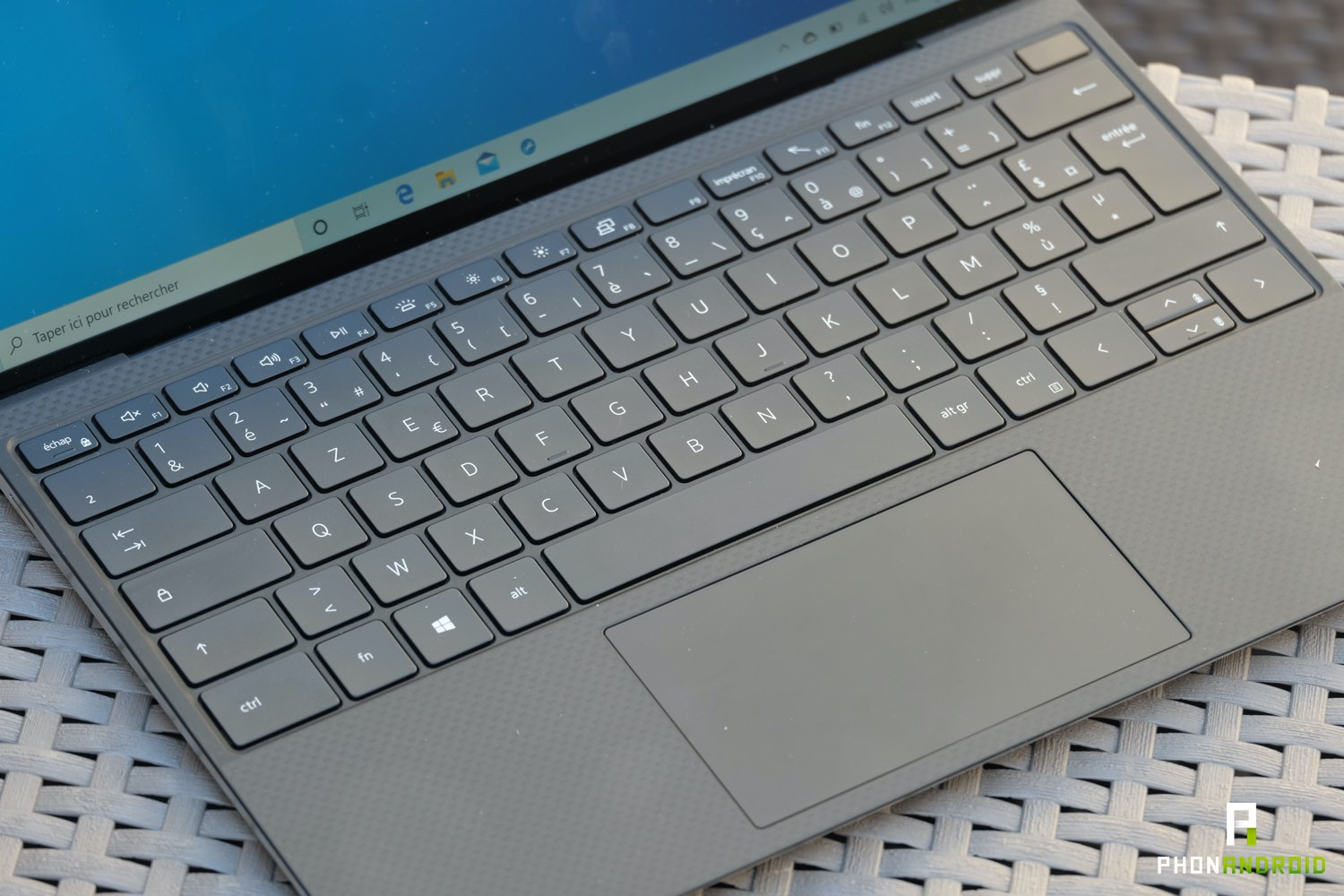 test dell xps 13 2020 trackpad
