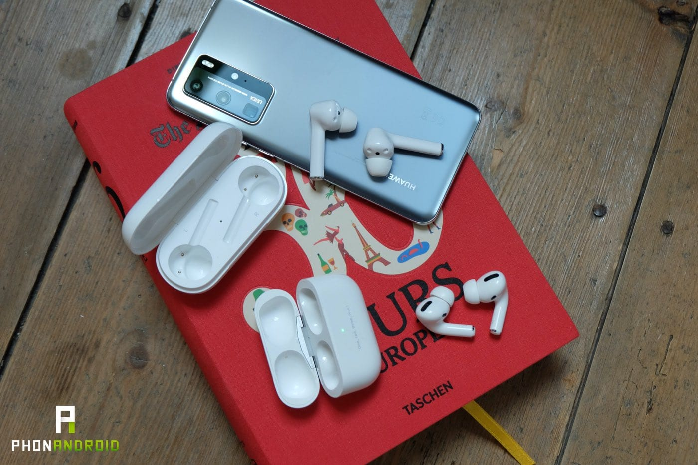 test huawei freebuds 3i vs airpods pro