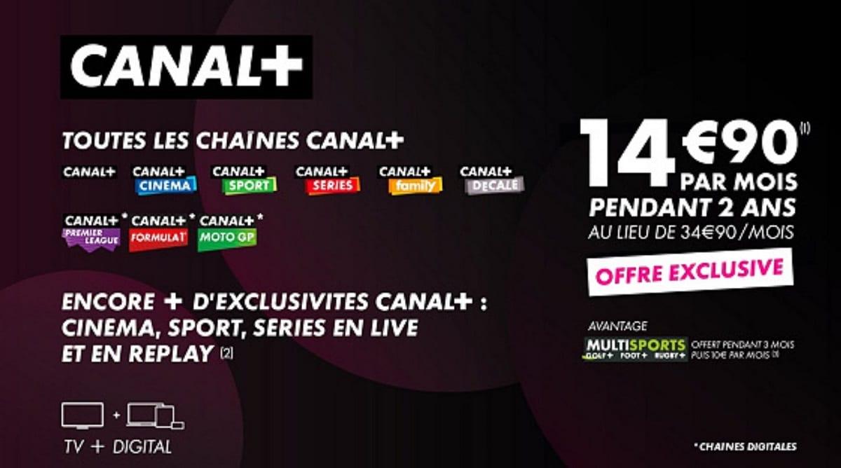 vente privee canal+