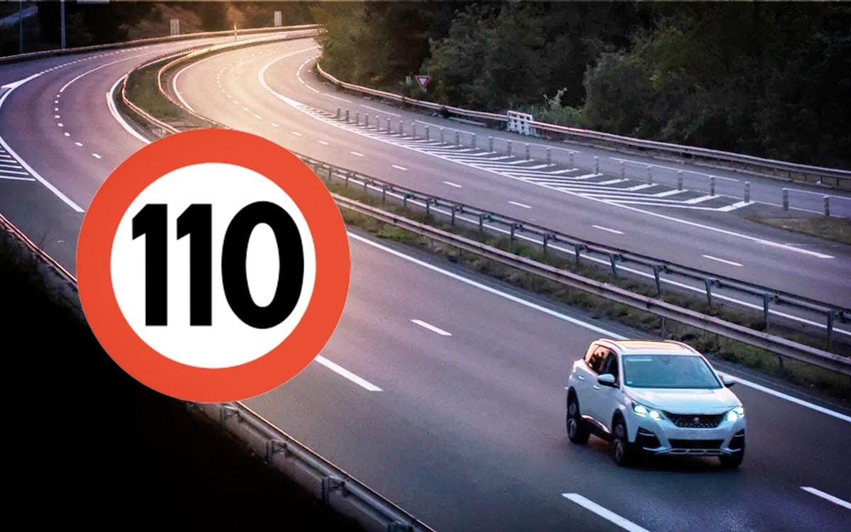 voiture électrique 110 km/h