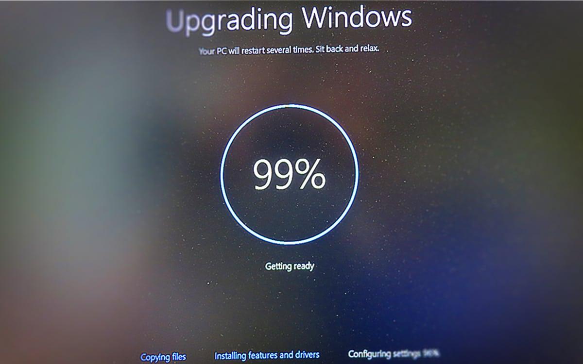 Windows 10 mise à jour mai