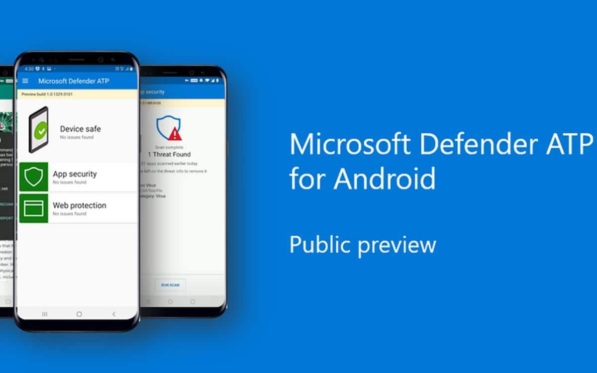 Windows Defender ATP sur Android