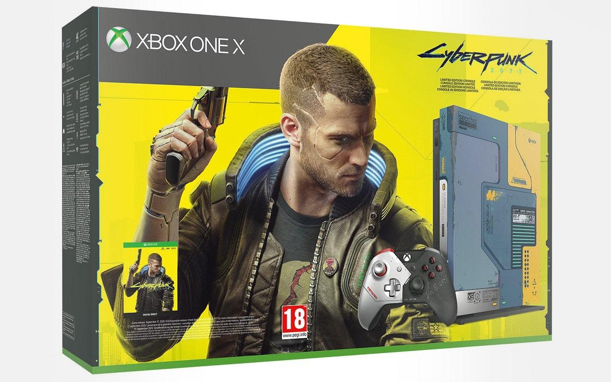 xbox one X cyberpunk 2077 meilleur prix