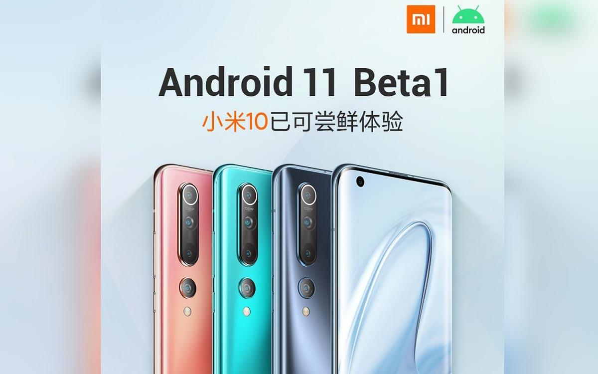 Xiaomi Mi 10 : la bêta d'Android 11 est disponible