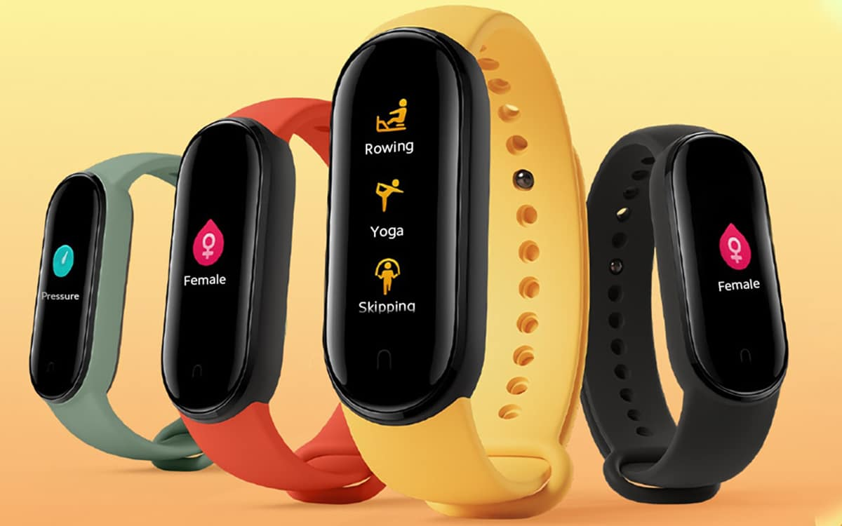 xiaomi mi band 5 officiel