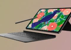 La Galaxy Tab S7.