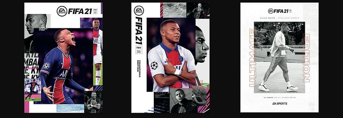 Jaquette de FIFA 21