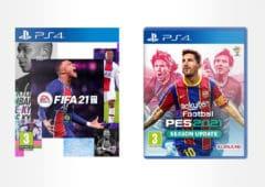FIFA 21 PES 2021 meilleur prix