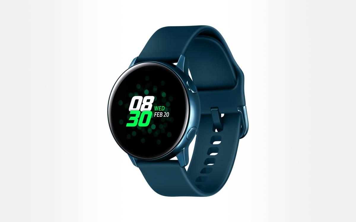 Samsung Galaxy Watch Active pas chère