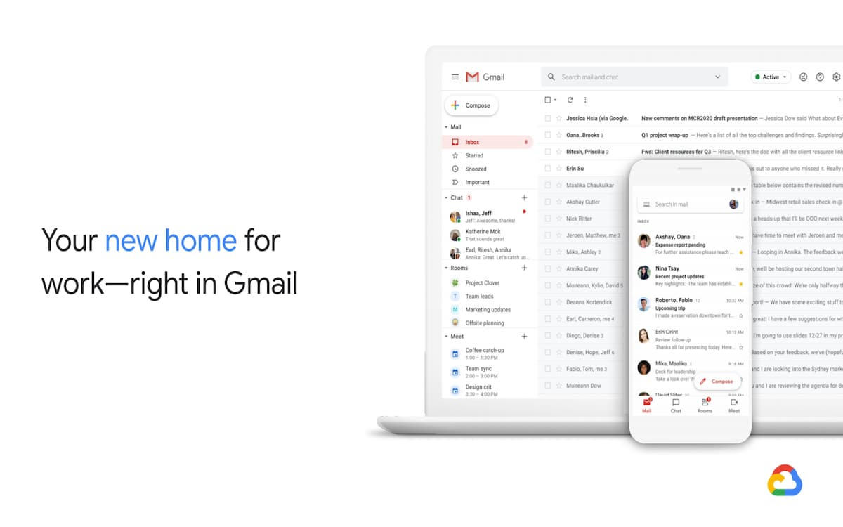 Gmail nouvelle version