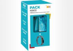 Honor 9X Lite avec un bracelet Band 5 Sport