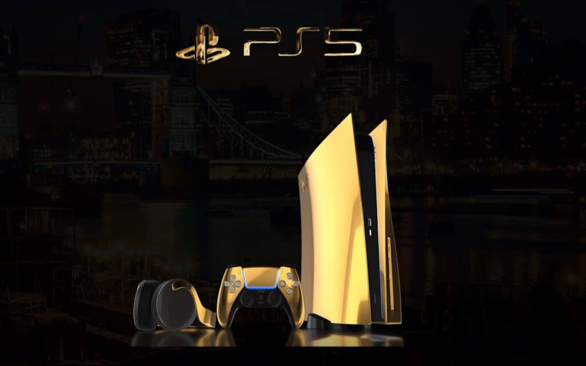 PS5 finition or 24 carats