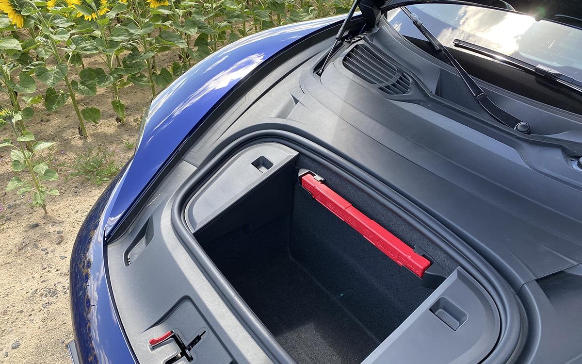 Porsche Taycan Coffre avant
