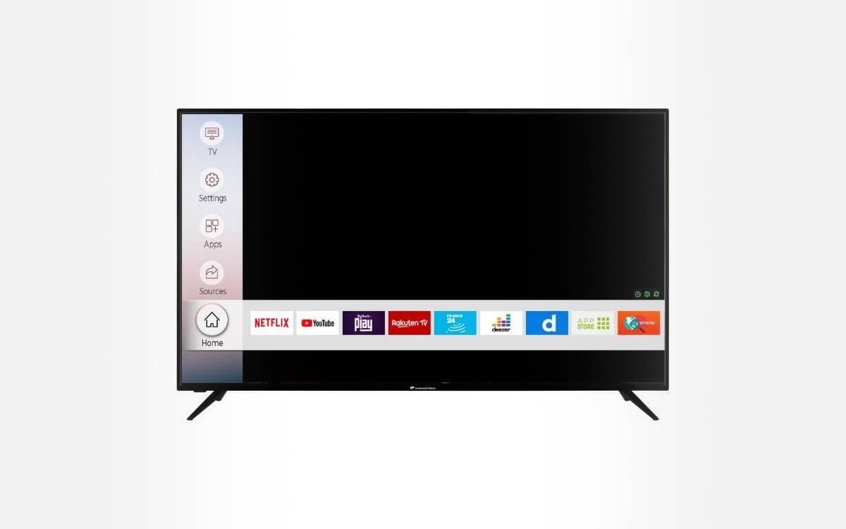 Smart TV Continental Edison CELED65S20B3 65 pouces pas chère