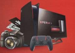 Sony PS5 edition rouge et noire