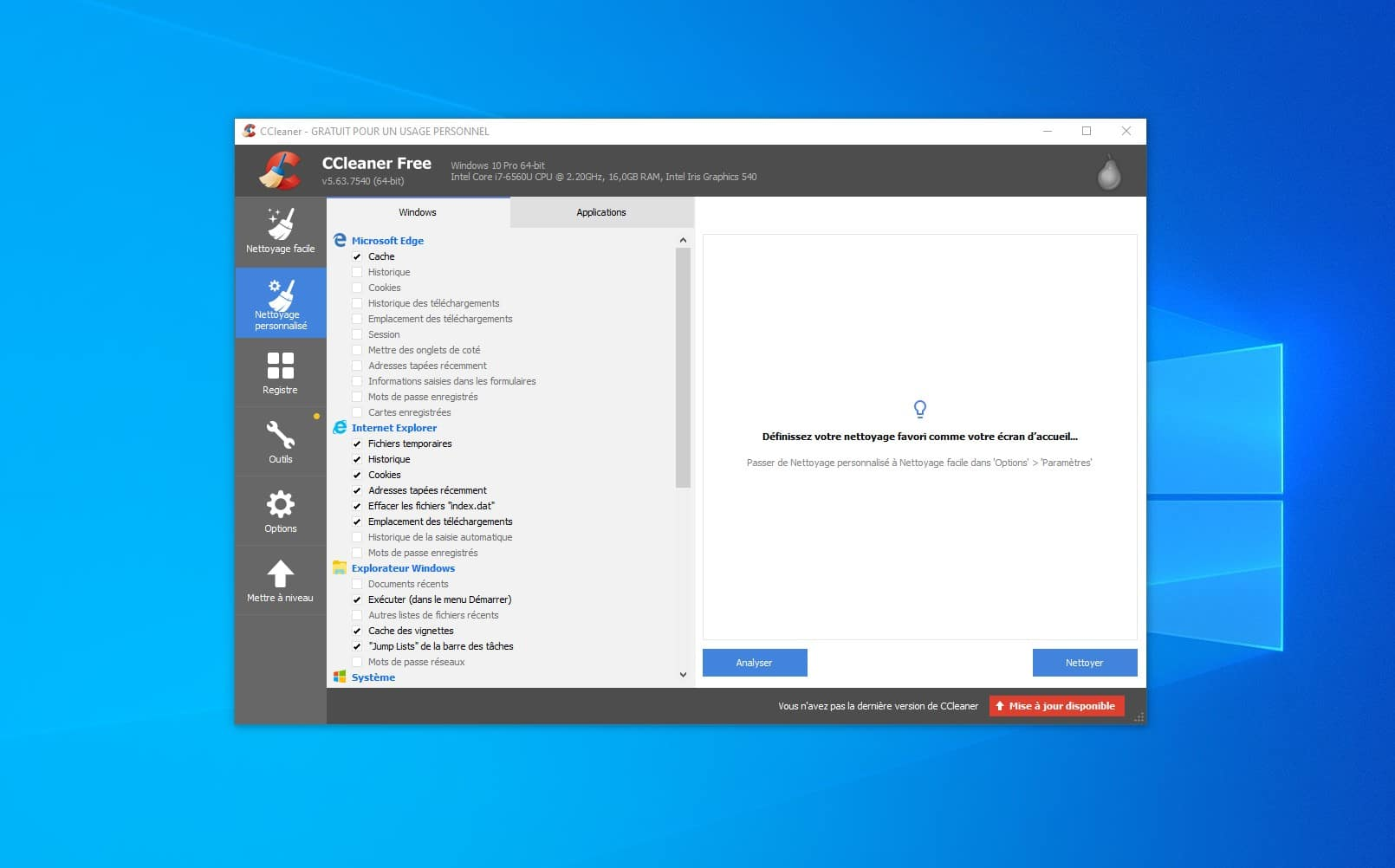 Windows 10 CCleaner