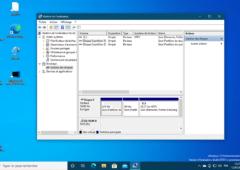 Windows 10 Gestionnaire de disques et de partitions