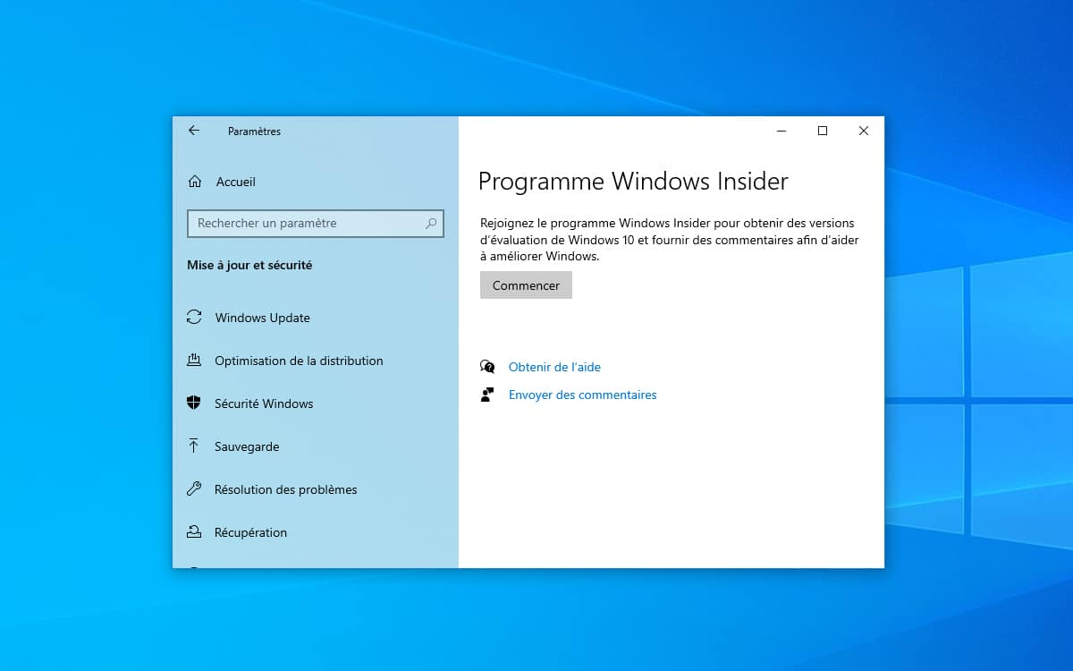 Windows 10 Programme Windows Insider
