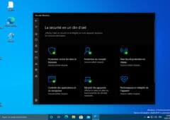 Windows 10 nouvelle version mise a jour Windows Defender