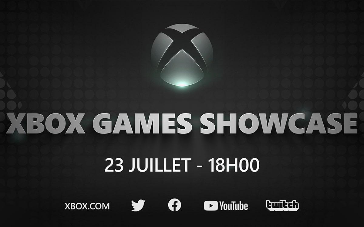 Conférence Xbox Games Showcase présentation jeux Xbox Series X