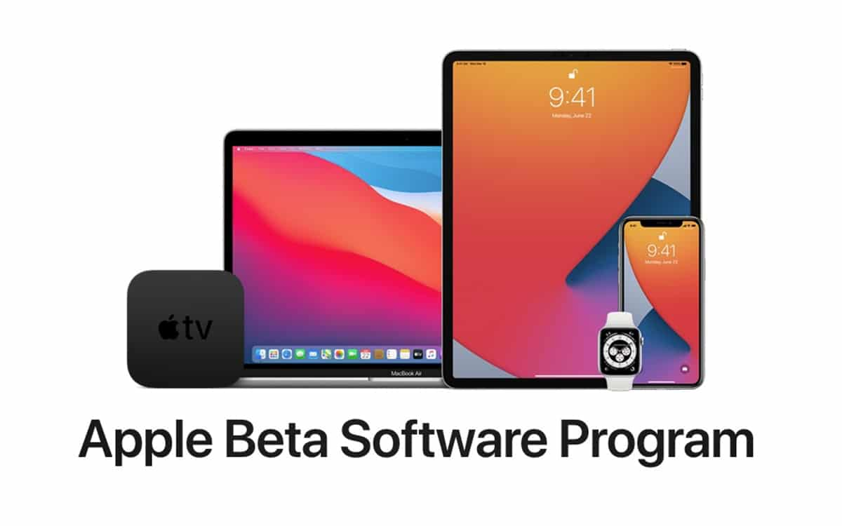 Apple beta iOS 14 iPadOS 14 macOS Big Sur WatchOS 7